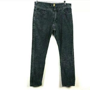 J. Crew Sz 30 Corduroy Slim Gray Pants